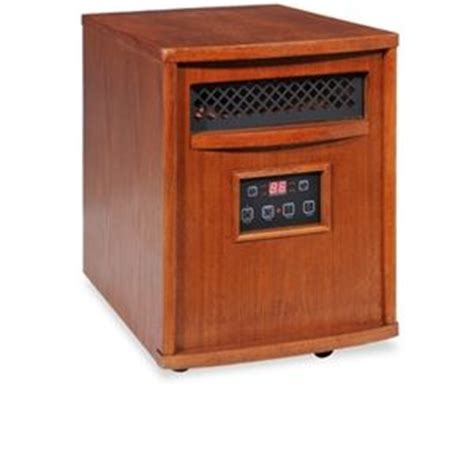 Infra Heat L by Lifesmart Ls Pp1500 6 Infrared Heater Dual Heat Settings