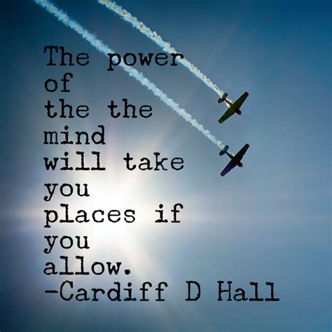 places of the mind power of the mind cardiff d hall