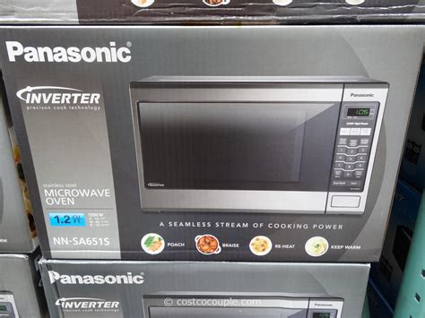 Microwave Panasonic panasonic 1 2 cu ft stainless steel inverter microwave oven