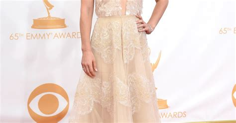claire danes wins emmy emmys 2013 live results claire danes wins sexy dress with