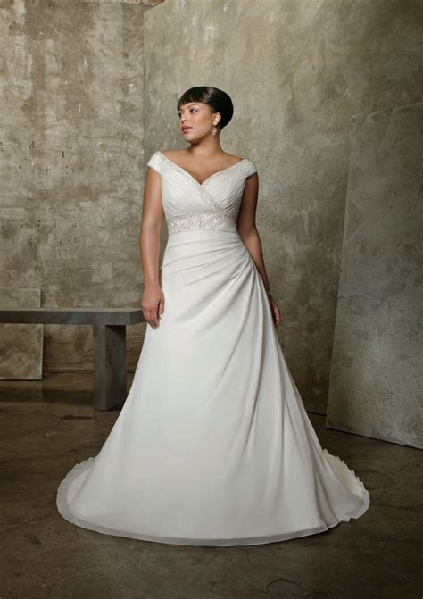 Wedding Dresses For Plus Size by Dressybridal Wedding Dresses For Figured