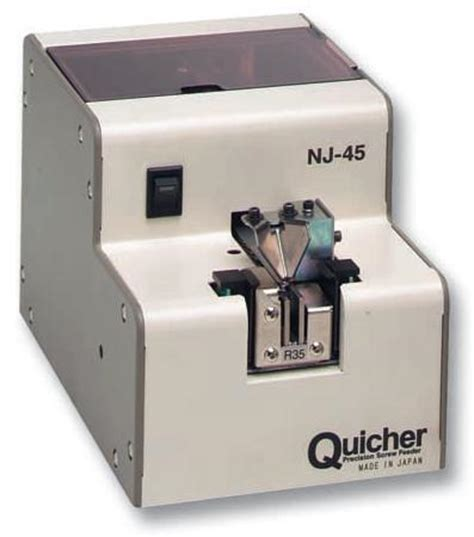 Quicher Feeder screwing technology quicher ohtake