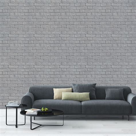 grey wallpaper house stylish brick effect wallpaper designs brick wallpaper ideas