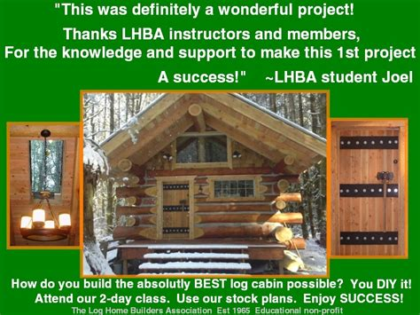 build you own home why you shouldnt buy log cabin kits