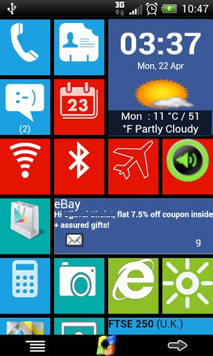 windows 8 for android apk free windows 8 with live tiles v2 6 apk for android free android app