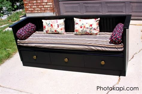 how to make a dresser into a bench 10 ways to upcycle an old dresser