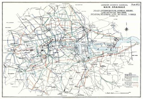 houston drainage map sewer history photos and graphics