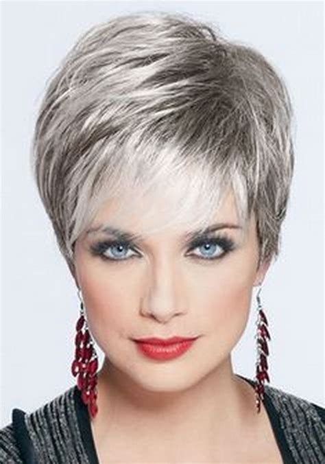 photos of short haircuts for women over 60 wide neck over 70 short hairstyles for women