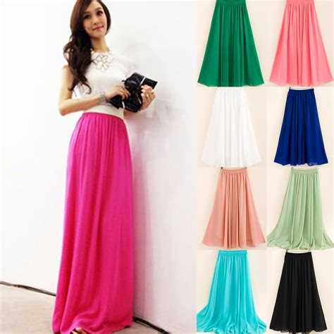 retro layer sheer pleated elastic waist skirt