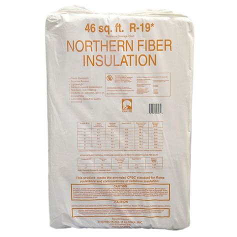 northern fiber cellulose in insulation 289148 the