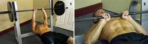 proper bench press grip close grip barbell bench press second chance fitness