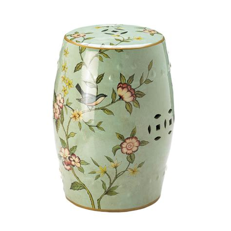 Furniture Garden Stools by Floral Garden Decorative Stool Wholesale At Koehler Home Decor
