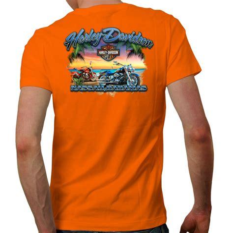 tshirt harley davidson b c s ride sleeve t shirt nassau