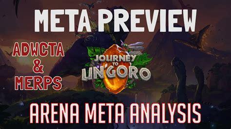 Rena Meta un goro arena meta analysis part 1 meta preview