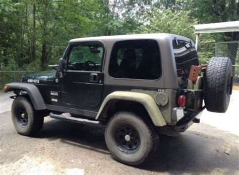 2005 Jeep Wrangler Transfer Find Used 2005 Jeep Willis Tj Wrangler 4x4 With Manual 6