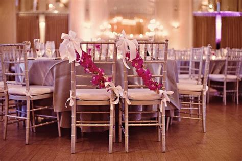 dress up your wedding chairs the magazine