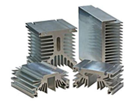 Extruded Heat Sink Profiles extruded heat sinks heat sink extrusions