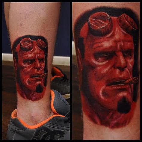 hellboy tattoo 36 best hellboy tattoos images on