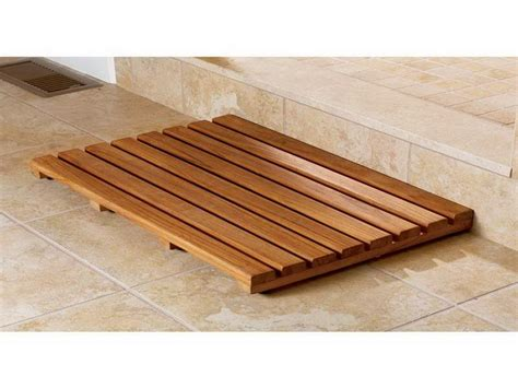 bathroom types of wooden bath mat spa bath mat teak