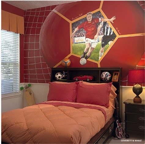 Teen Boys Sports Theme Bedrooms Exotic House Interior Boys Bedroom Decorating Ideas Sports 2