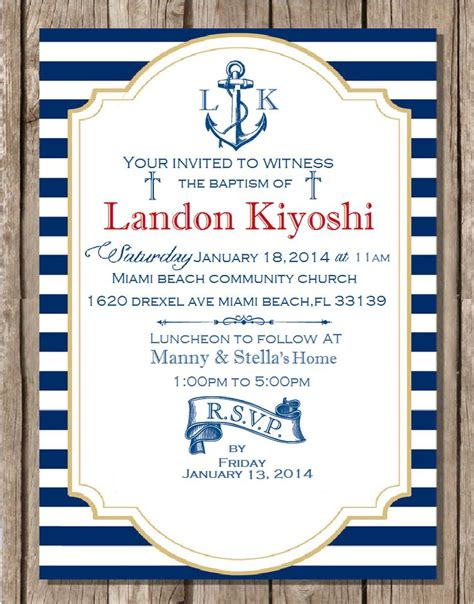 5 Nautical Style Treasures To Bring Some To Your Steps by Best 25 Nautical Baptism Ideas On Sailor