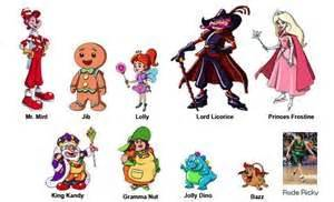 Candyland characters candyland trunks candyland character candyland