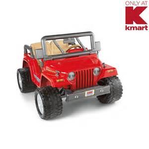 Power Wheels Truck Kmart Power Wheels Jeep Rubicon Kmart Exclusive Kmart