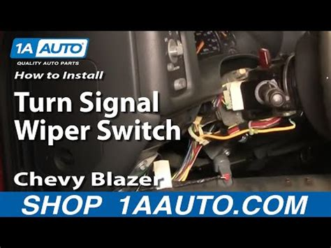 93 chevy truck wiper switch removal autos weblog youtube how to install replace part 1 turn signal wiper switch html autos weblog