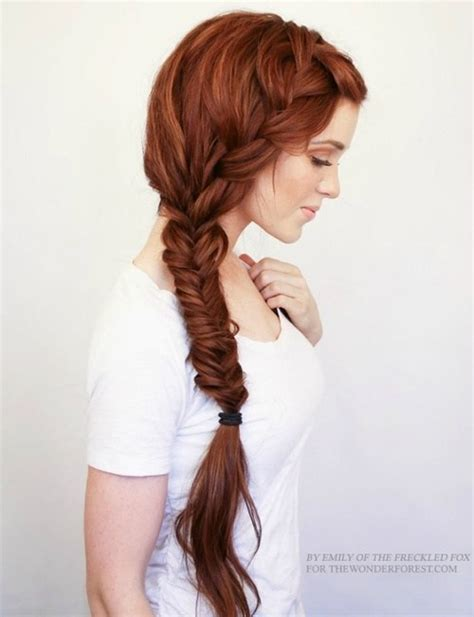 one side shaved hairdo braid tutorials 20 stylish side braid hairstyles for long hair
