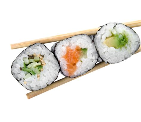 The Healthiest Sushi Rolls