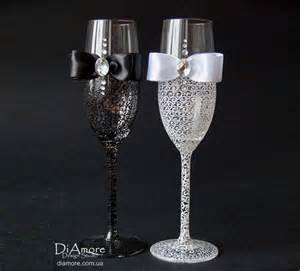 personalized wine glasses wedding gift