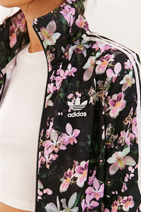 Jaket Adidas Floral adidas orchid track jacket outfitters follow me