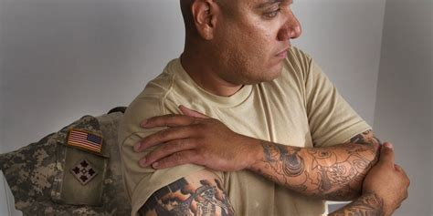tattoo removal for military army to remove limit on tattoos huffpost