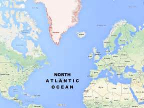 map of the atlantic different types of maps all