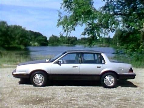 how do cars engines work 1990 pontiac 6000 windshield wipe control 187 1983 pontiac 6000 promo