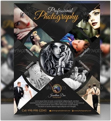 38 stunning photography flyer psd templates web