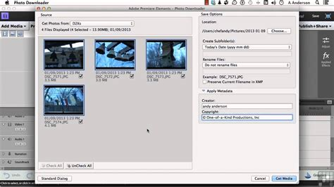 tutorial adobe premiere elements adobe premiere elements 11 tutorial capture from dslr