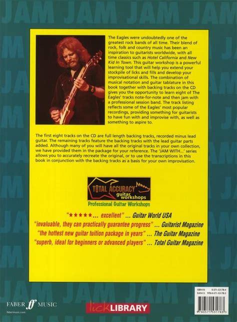 hotel california testo e accordi eagles jam with total accuracy cd guitar tablature hotel