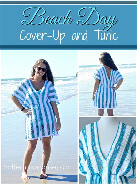 pattern beach cover up free beach day cover up tunic free crochet pattern allcrafts