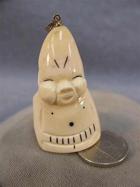billiken whale tooth 2 quot whale tooth ivory billiken pendant 700