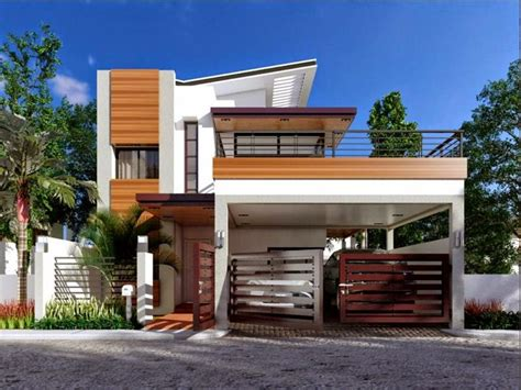 square meters house plan  storey modern house plan modern house plan