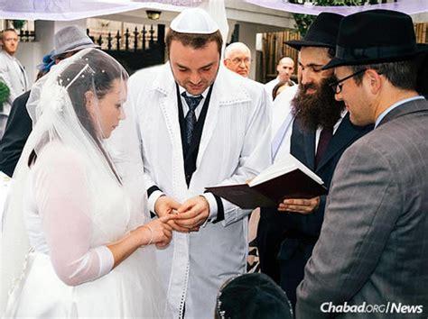 jewish wedding ceremony marriage