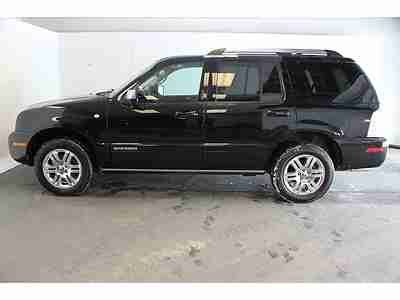 purchase used 2010 mercury mountaineer premier awd navigation rear dvd heated seats sync black buy used 2010 mercury mountaineer premier with leather roof navigation 3rd row in north