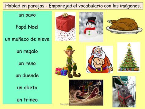 printable christmas cards spanish navidad spanish christmas vocabulary worksheet games