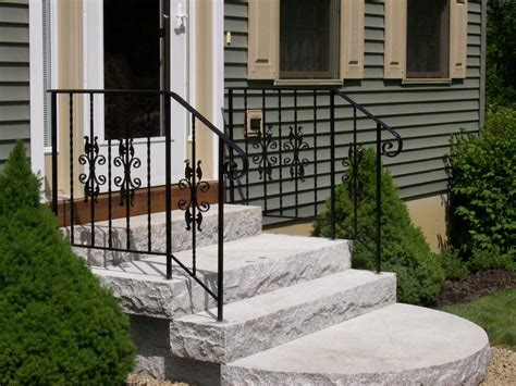 outdoor banister stairs stunning outdoor handrails outdoor handrails