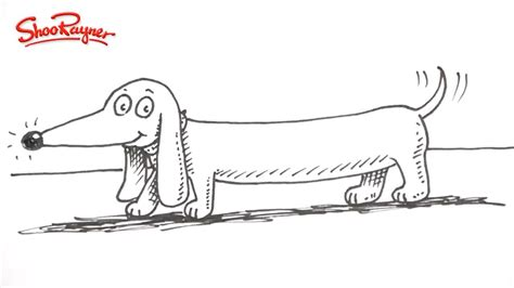 how to a dachshund puppy how to draw a dachshund sausage drawing litle pups