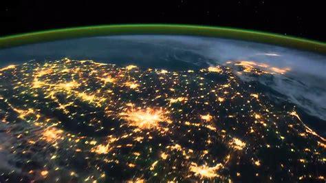 imagenes sorprendentes desde el espacio la tierra en hd lapso del tiempo vista desde el espacio
