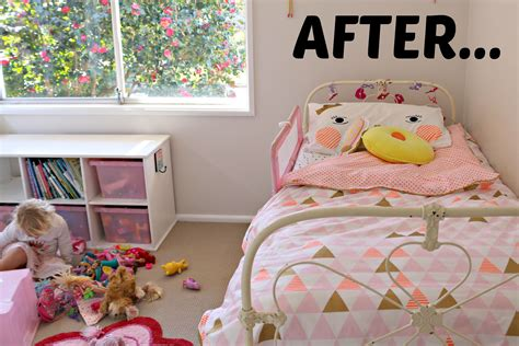 cotton on kids girls bedroom makeover after mrs d plus 3