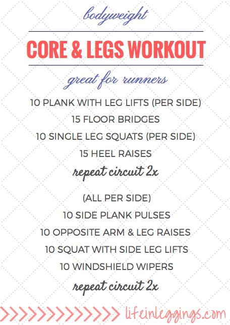 at home workouts in