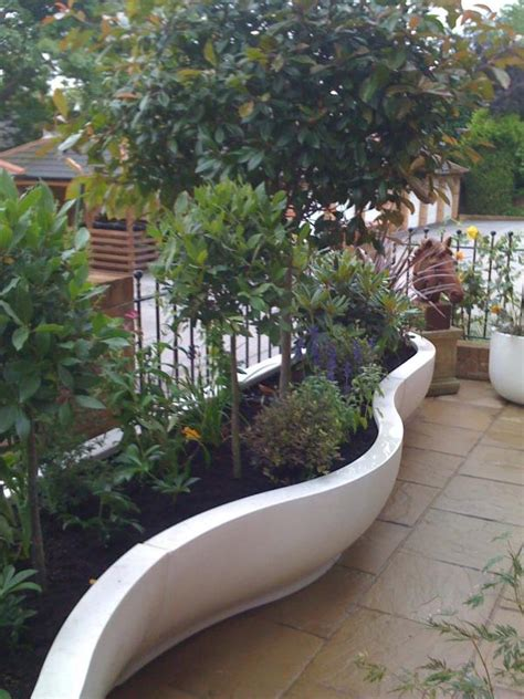 Curved Planters by Cemcotec Technical Info Expert Assistance With Grc